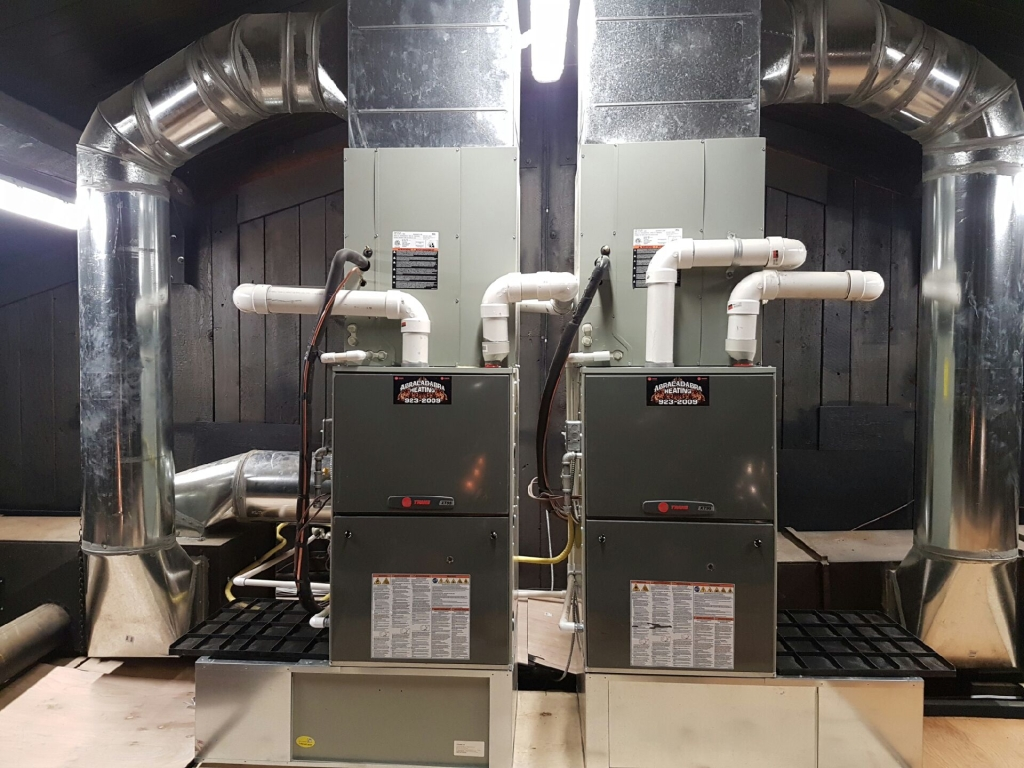 Campbell River Furnace Installation